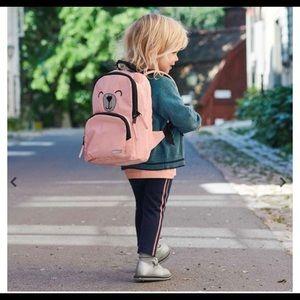 Polarn o pyret Kids Reflective Backpack pink bear